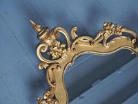 Victorian French Giltwood Girandole Mirror (3 of 10)