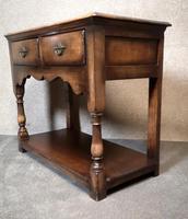 Titchmarsh & Goodwin Small Oak Dresser Base (3 of 8)