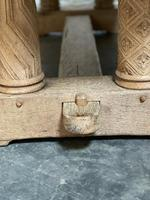 Extremely Rare Large Oak Refectory Table (31 of 35)