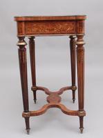 19th Century Inlaid Mahogany Dressing Table (8 of 13)