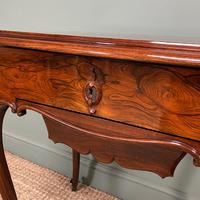 Spectacular Quality Victorian Rosewood Antique Work Table (7 of 8)