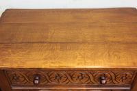 Single Drawer Oak Side Table (7 of 9)