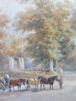 Watercolour English Countryside Listed Artist Henry Earp Senior (7 of 10)