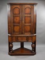 Oak Corner Cupboard by Liberty & Co