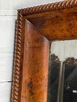 19th Century French Burr Walnut Wall Mirror (7 of 19)