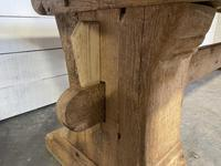 Rare Huge 3m Bleached Oak Farmhouse Table (12 of 23)