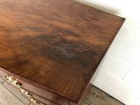 19th Century Mahogany Bow Front Chest of Drawers (12 of 18)