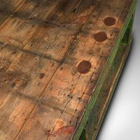 Large Antique Factory Mill Table, English, Pine, Industrial, Victorian c.1900 (9 of 10)