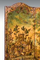 Early 18th Century European Four Folding Screen (5 of 9)
