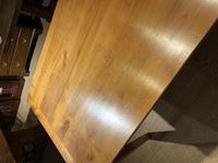 Farmhouse table cherry wood 71 inches long (5 of 11)