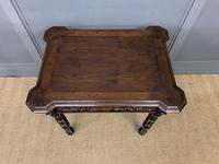 Good 19th Century Carved Oak Table (3 of 15)