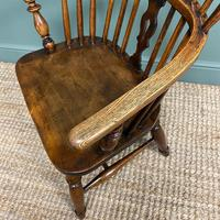 Stunning Country House Elm & Ash Antique Windsor Chair (4 of 7)