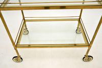 Vintage French Brass Drinks Trolley (7 of 10)