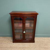 Stunning Quality Victorian Glazed Mahogany Bookcase (6 of 7)