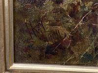 Good Gilt Framed Oil on Canvas Painting by Henry Maidment (6 of 6)