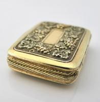 Wonderful cast silver-gilt vinaigrette Samuel Pemberton Birmingham 1816 (4 of 11)