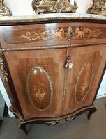 Louis XVI Style French Marble Top Cabinet (7 of 8)