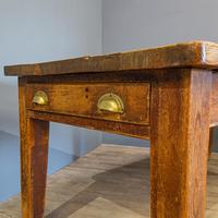 Pine Farmhouse Dining Table (2 of 5)