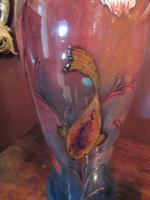 Rare Moorcroft Flambe Glazed Fishes Vase (5 of 9)