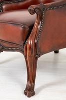 Victorian Rosewood Cabriole Leg Armchair (5 of 9)