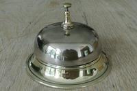 Victorian Brass Table Bell or Counter Bell c.1900 (2 of 5)