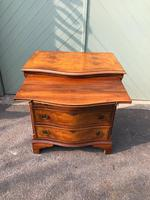 Antique Burr Walnut Chest Drawers (8 of 11)