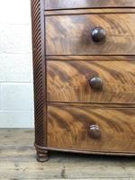 19th Century Mahogany Bow Front Chest of Drawers (12 of 12)
