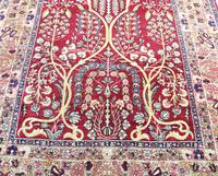 Fine Antique Kirman Rug 201x132cm (3 of 4)