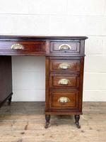 Antique Mahogany Small Desk (5 of 10)