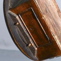 Oak Fusee Wall Clock by Hamilton & Inches (6 of 6)