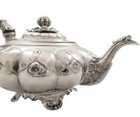 Antique Georgian Sterling Silver Teapot 1828 (7 of 10)