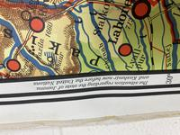 Large Vintage Westermann Wall Map of East & South-East Asia 1960's (8 of 11)