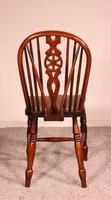 Set of 10 Windsor Wheelback Chairs 19th Century -  England (8 of 11)