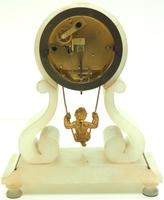 Rare Antique French Farcot Mantel Clock 8-Day Swinging Cherub Mantel Clock (11 of 11)