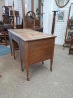 Edwardian Leather Top Desk (7 of 7)