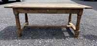 Rustic Bleached Oak Coffee Table (4 of 11)