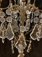 One Light Italian Antique Cage Chandelier (12 of 13)
