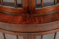Bow Fronted Double Mahogany Corner Cabinet (2 of 6)
