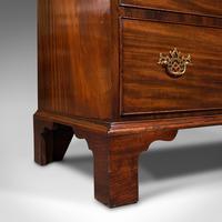 Antique Gentleman's Chest of Drawers, English, Mahogany, Bedroom, Georgian, 1800 (12 of 12)