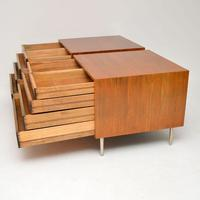 1960's Pair of Vintage Mahogany Chests by Edward Wormley for Dunbar (5 of 12)