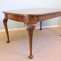 Quality Antique Burr Walnut Dining Table (10 of 14)