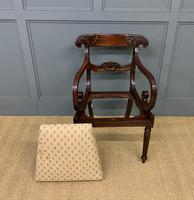 Excellent Pair of Regency Mahogany Scroll Armchairs (17 of 17)