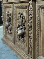 Magnificent French Carved Oak Hunting Sideboard (6 of 23)