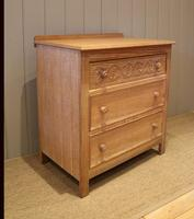 Small Limed Oak Chest of Drawers (2 of 10)