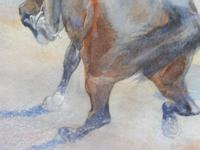 Pair of Victorian Watercolours The Hussars Artist George Clark (3 of 10)