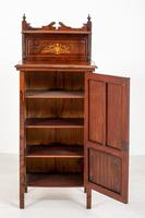 Victorian Rosewood Inlaid Side Cabinet (4 of 6)