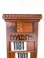 Early 20th Century Antique Hymn Board (2 of 4)