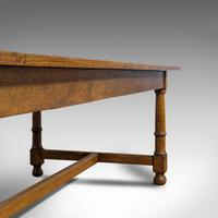 Large, Antique Refectory Table, Scottish, 8 Seat, Oak, Dining, Victorian c.1870 (8 of 11)