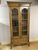 Edwardian Tall Bookcase (3 of 14)
