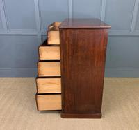 Victorian Tall Mahogany Chest of Drawers (10 of 12)